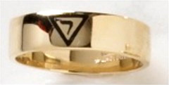 Scottish Rite Rings, 14th Degree,10KT, or 14KT White or Yellow Gold #1111b