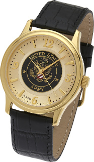 Army Watch, Bulova Gold Plated #1