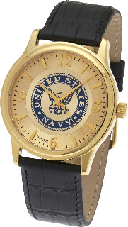 Navy Watch, Gold Plated Bulova #2