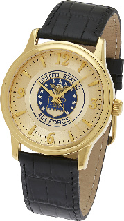 Air Force Watch Gold Plated Bulova #3