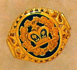 Order of Amaranth Ring 10KT or 14KT Gold