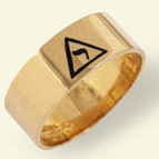 Scottish Rite Rings, 14th Degree, 10KT or 14KT Gold,  #1110