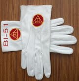 Masonic Gloves #6