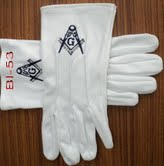 Masonic Gloves #2