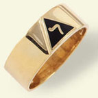 Scottish Rite Rings, 14th Degree,10KT or 14KT Gold, #1109