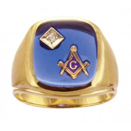 3rd Degree Masonic Ring 10KT OR 14KT  Open or Solid Back, White or Yellow Gold, #702