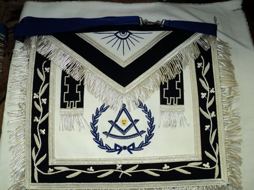 Past Master Masonic Apron #3