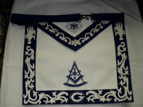 Past Master Masonic Apron #6
