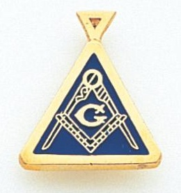 Blue Lodge Pendant 10KT or 14K Gold #8