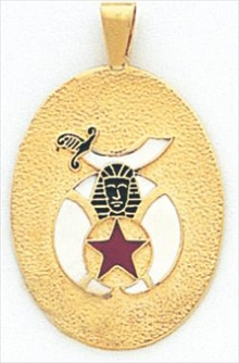 Shrine Pendant 10KT or 14KT Yellow Gold. #21