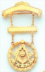 Past Master Breast Jewel #1