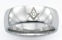 Stainless Steel Masonic Band #5