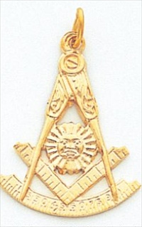 Past Master Pendant 10K Yellow #12
