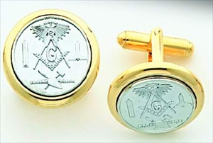 Masonic Cuff Links #3