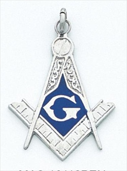 Blue Lodge Pendant Sterling Silver #2
