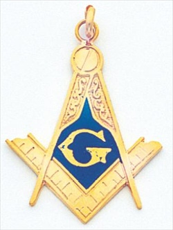 Blue Lodge Pendant #1