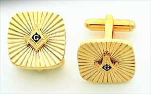 Masonic Cuff Links #1
