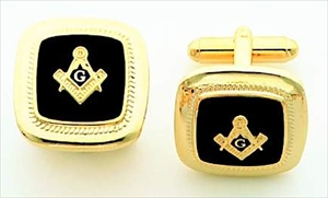 Masonic Cuff Links #2