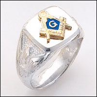 Sterling Silver Masonic Ring #62