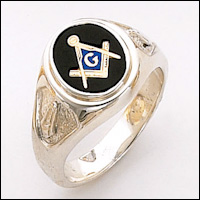 Sterling Silver Masonic Ring #67