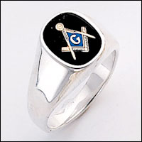 Sterling Silver Masonic Ring #68