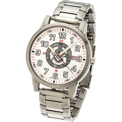 42mm White Sport Masonic Watch  #554 MSW107B