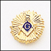 Masonic Blue Lodge Lapel Pin 10KT Gold #29