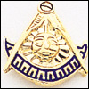 Past Master Lapel Pin 10KT Gold #36