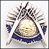 Past Master Lapel Pin 10KT Gold #34