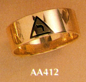 Wefferling Berry Scottish Rite Ring #14