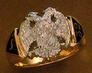 Wefferling Berry Scottish Rite Rings