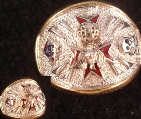 Knights of Columbus Rings,4th Degree,10KT or 14KT  Gold Open or Solid Back #1911