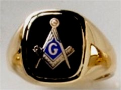 3rd Degree Masonic Ring 10KT OR 14KT  Open or Solid Back, White or Yellow Gold, #704