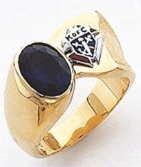 Knights of Columbus Rings, Harvey & Otis, 3rd Degree,10KT or 14KT Gold, Open or Solid Back  #23a
