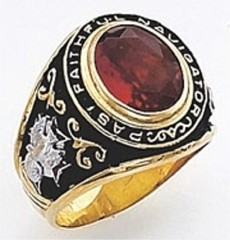 Knights of Columbus Rings, Past Navigator,Harvey & Otis, 10KT or 14KT Gold, Open or Solid Back  #25