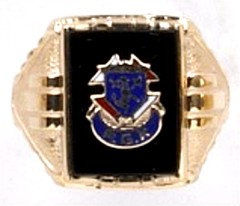 Knights of Columbus Rings,3rd Degree,10KT or 14KT Gold Open or Solid Back, Past Grand Knight #1910