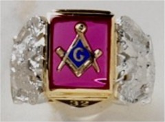 3rd Degree Blue Lodge Masonic Ring 10KT OR 14KT  Open or Solid Back #520