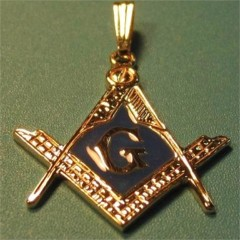 3rd Degree Blue Lodge Pendant 10KT or 14KT Gold #704A