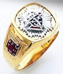 Harvey & Otis,Knights of Columbus Rings,3rd Degree,10KT or 14KT Gold, Open or Solid Back  #305