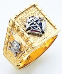 Knights of Columbus Rings,3rd Degree,Harvey & Otis,10KT or 14KT Gold, Open or Solid Back  #306