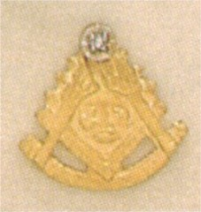 PAST MASTER LAPEL PINS, 10KT GOLD #32