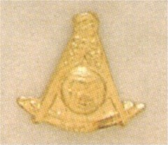 PAST MASTER LAPEL PINS, 10KT GOLD #35