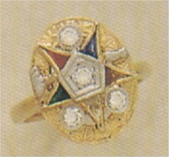 Past Matron Ring 10KT or 14KT  #4