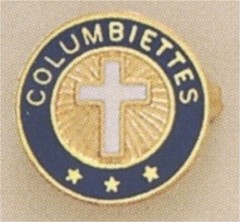 COLUMBUS  LAPEL PIN 10KT