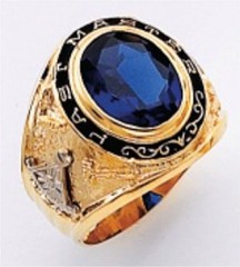 Masonic Past Master Rings 10KT or 14KT YELLOW OR WHITE Gold, Open or Solid Back #1046