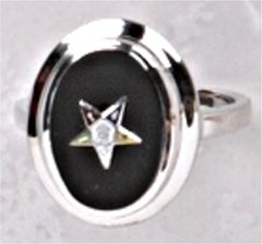 Eastern Star Ring 10KT or 14KT Gold #60