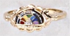 Rainbow Girl 10KT or 14KT Gold #54