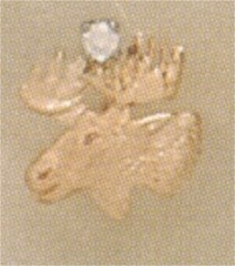 LOYAL ORDER OF THE MOOSE LAPEL PIN