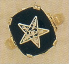 Eastern Star Ring 10KT or 14KT  #11