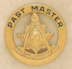 PAST MASTER LAPEL PIN #5
